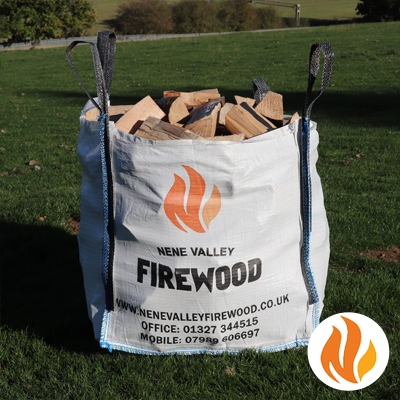 Kiln Dried Hardwood Logs by the Square Metre