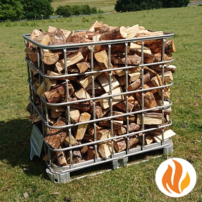 Seasoned Softwood Logs by the Square Metre